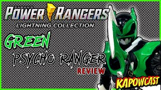 POWER RANGERS LIGHTING COLLECTION GREEN PSYCHO RANGER REVIEW | HASBRO PULSE EXCLUSIVE