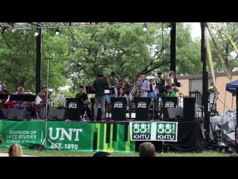 UNT: Four O'Clock Lab Band at Denton Jazz and Arts Festival 2017