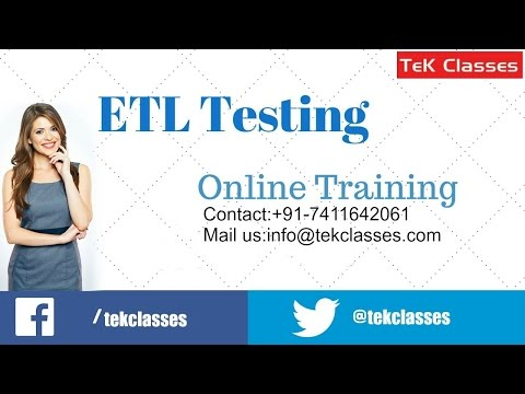 ETL Testing Interview Questions And Answers | ETL Testing Interview Preparation
