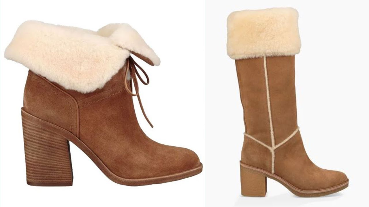reputable site 19a91 2e4c2 Ugg Boots With HEELS Are Now A Thing