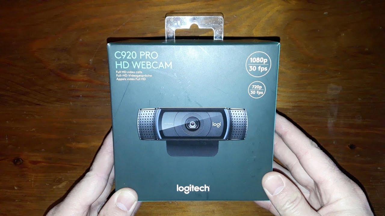 Logitech C920 Pro Hd Webcam 1080p Video With Stereo Audio