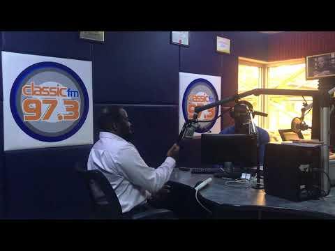 On Classic FM discussing digital opportunities in Nigeria