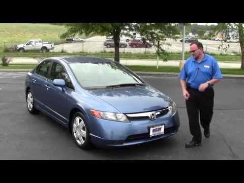 Used 2007 Honda Civic LX for sale at Honda Cars of Bellevue...an Omaha Honda Dealer!