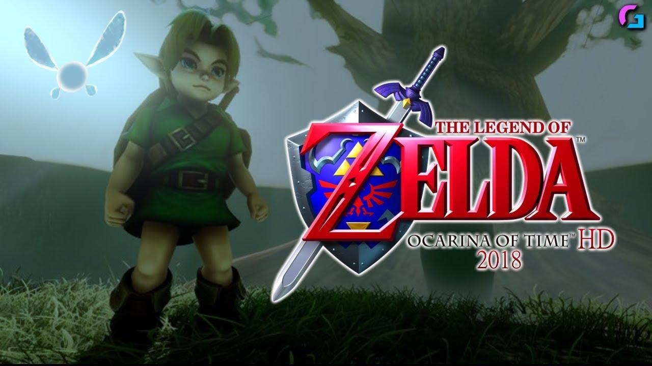 The Legend Of Zelda - Ocarina of Time REMASTERED 2018
