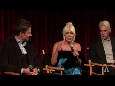 """Lady Gaga Bradley Cooper Sam Elliott - Academy conversation """"A star is born"""""""