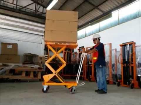 รถโต๊ะยกของ, โต๊ะยกสูง,เคลื่อนที่   Lift table  AS35D  HECKER