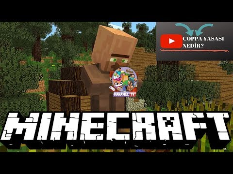 Minecraft Köylülerle Yaşam || COPPA Yasası || Karamel TV
