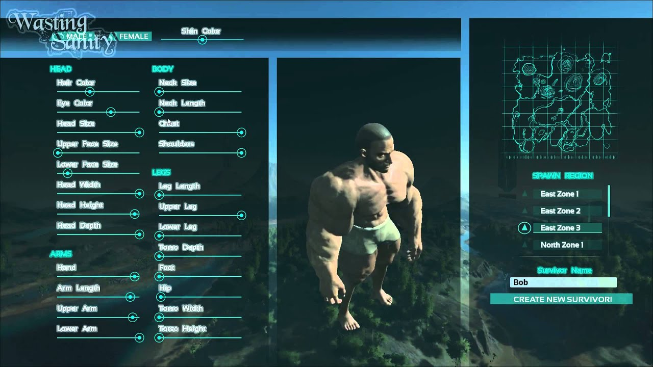 Ark: Survival Evolved Character Creation