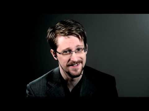 Edward Snowden on Encryption