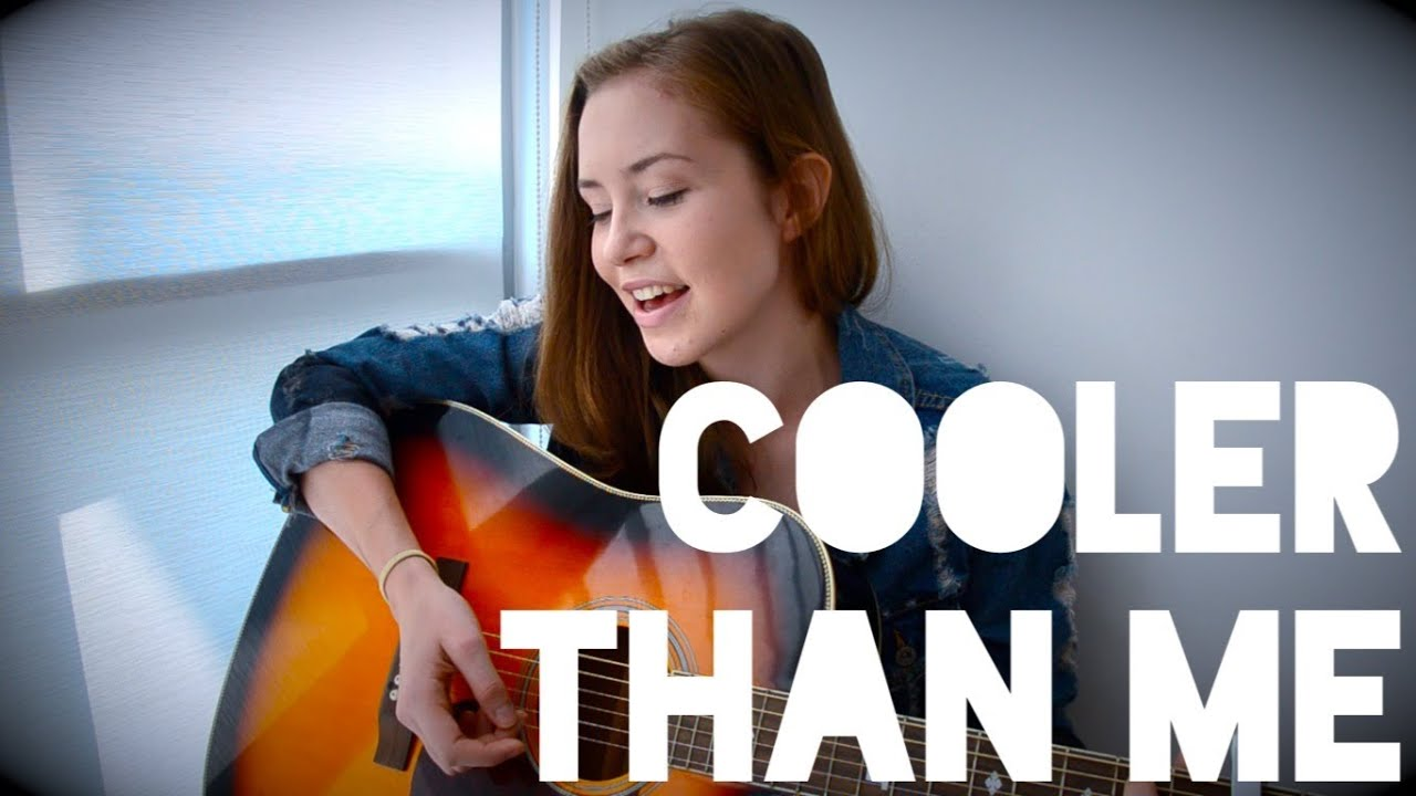Mike Posner Cooler Than Me Cover Helena To Guitar Chords