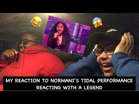 My Reaction To Normani's Tidal Performance ~ Reacting With A Legend