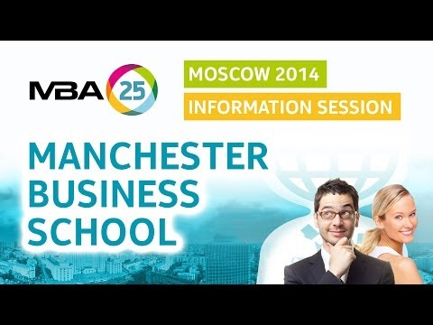 Information session. Manchester Business School.