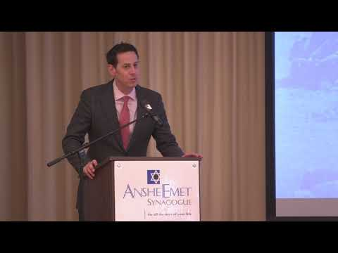 Israel's Security At 70 (Chicago): David A. Halperin And Itay Milner
