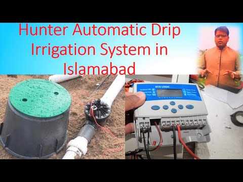 automatic-drip-irrigation-system-in-islamabad-using-hunter-products-(eco-logic)-in-urdu