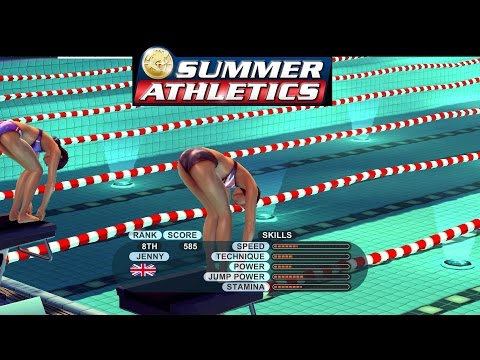 RIO 2016 OLYMPICS SPECIAL: Let's Play Summer Athletics (Badly) Part #1