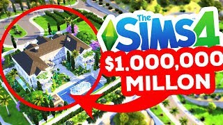ONE MILLION DOLLAR BUILD CHALLENGE! - The Sims 4