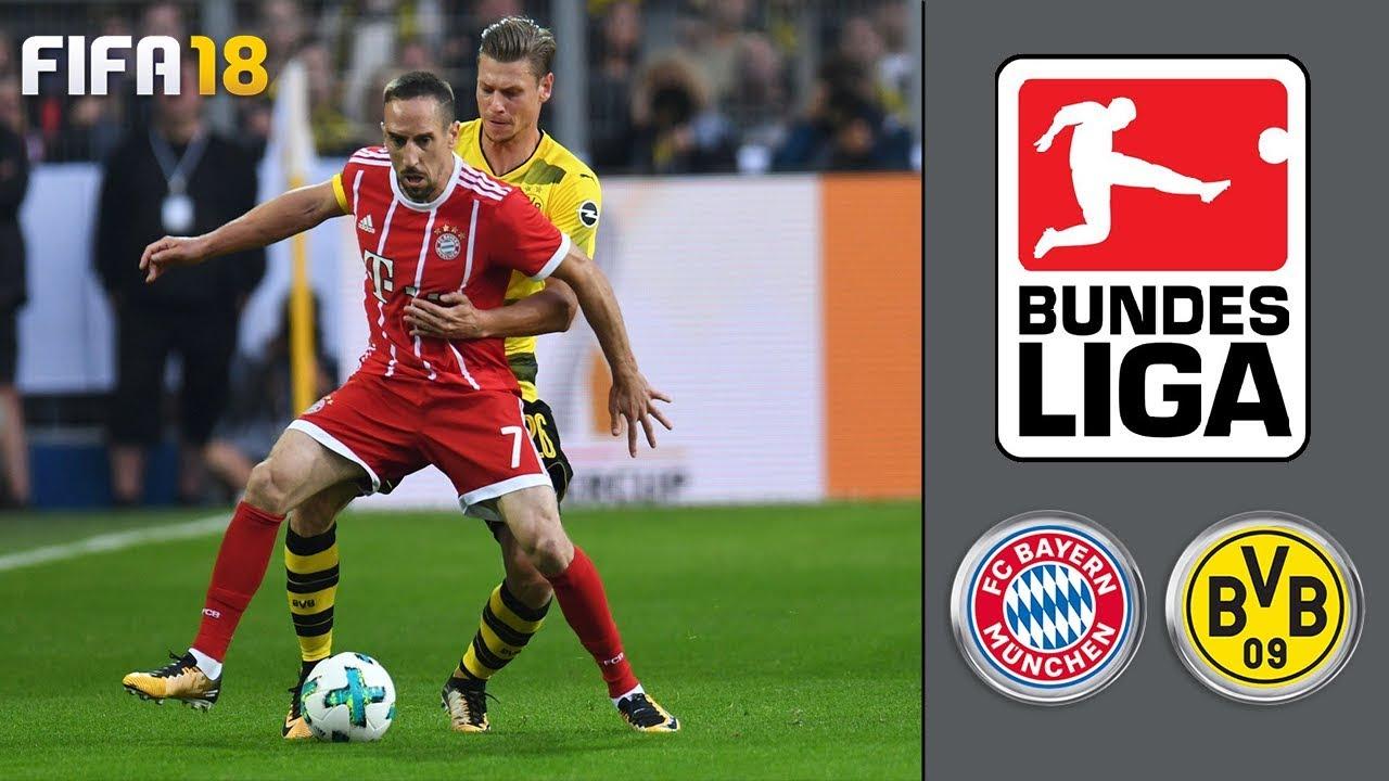 Fc Bayern München Vs Borussia Dortmund ᴴᴰ 31032018 28spieltag