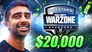 🔴 $20,000 WARZONE TOURNAMENT (Vikkstars Showdown 2 Week 1)