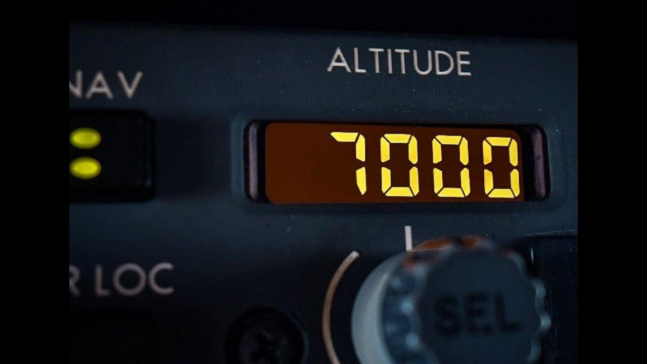 BOEING 737 NG - ALTITUDE SELECTOR