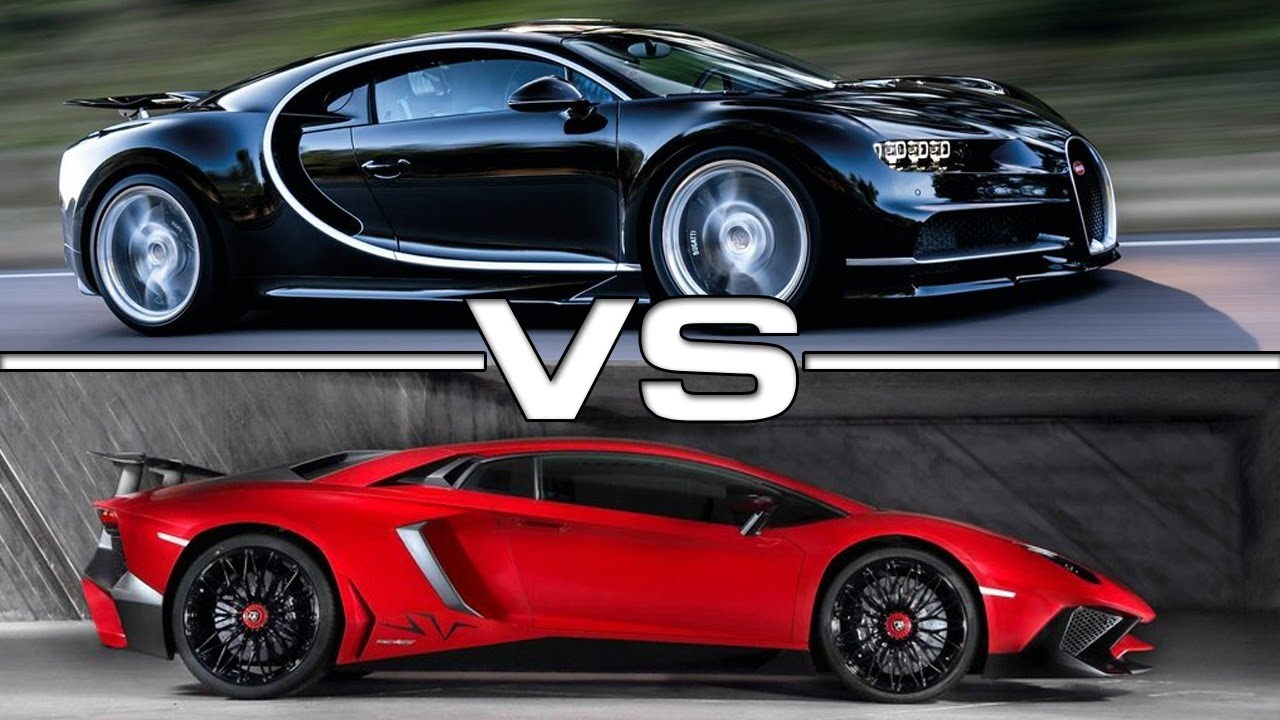 Bugatti Chiron Vs Lamborghini Veneno Race Youtube