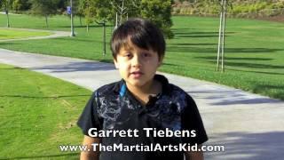 Garrett Tiebens The Martial Arts Kid Welcome.mov