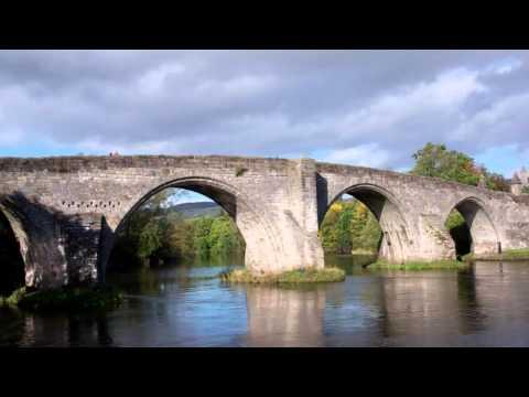 Old Stirling Bridge River Forth Stirling Scotland