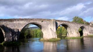 Old Stirling Bridge River Forth Stirling Scotland September 28th