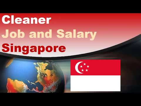 Cleaner Salary in Singapore - Jobs and Salaries in Singapore