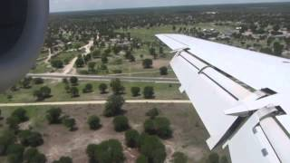 Landing in Maun
