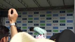 2013/09/01、西武ドームでの「レジェンド・シリーズ2013」のイベントで...