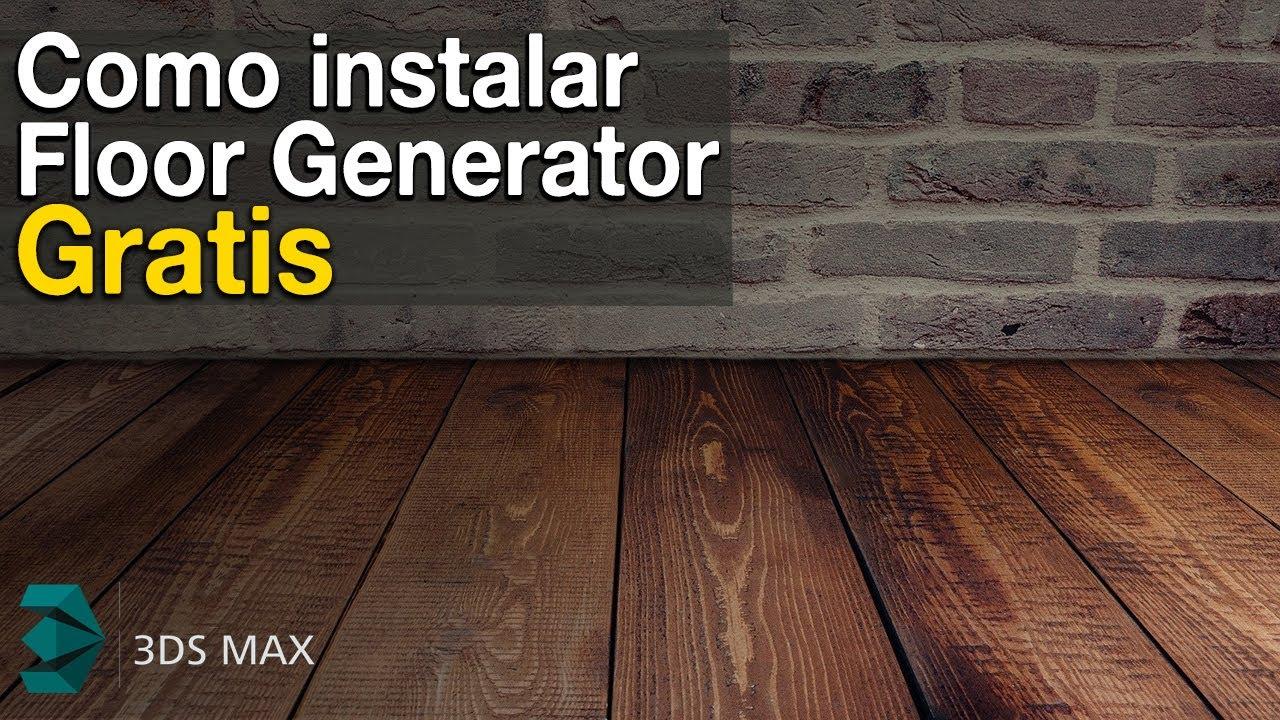 Floor Generator plugin in 3D Max