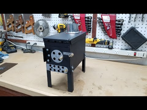 How to Make an Ammo Can Stove from A to Z