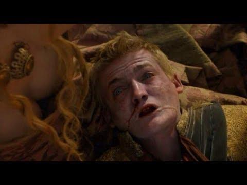 Joffrey Baratheons Death Scene | Game of Thrones - King Joffrey Dies at the Purple Wedding.