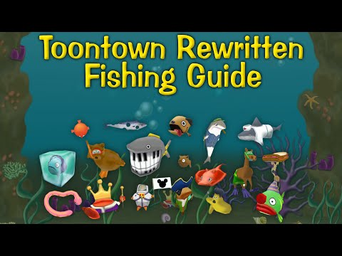 Toontown Rewritten Fishing Guide