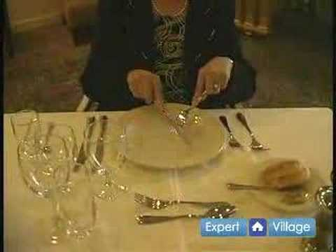 Dinner Etiquette Proper Table Manners For Using A Knife American Style