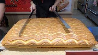 Grand Jiggly Cake Cutting