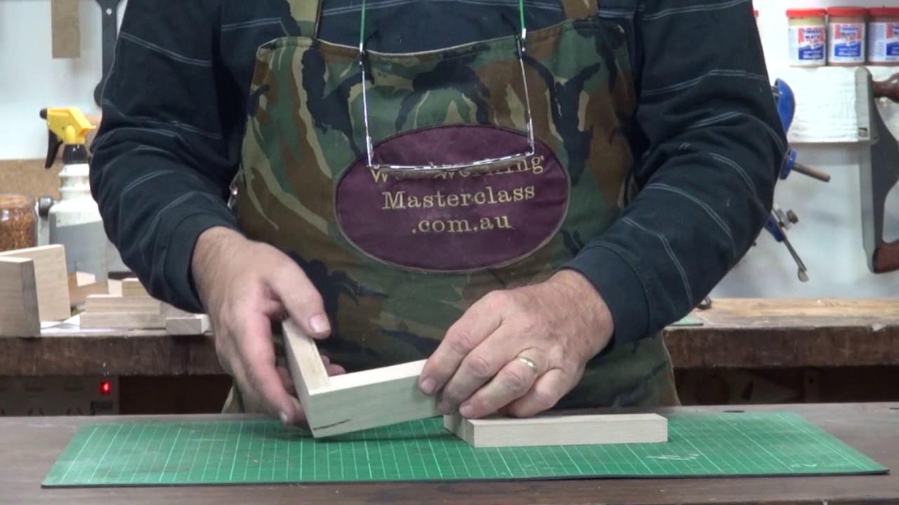 Bandsaw Joints 1 de 9 articulaciones de tope y vuelta - Youtube-4507