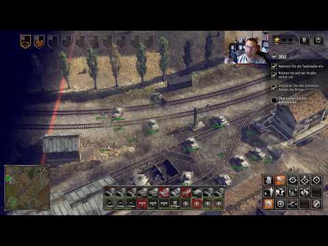 Lets Play Sudden Strike 4 - E02 - Zweite deutsche Mission: Westfeldzug - in Deutsch und 4k