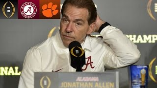 Nick Saban On Disappointing Loss | Inside The National Championship