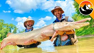 GIANT FISH CAUGHT - Real River Monster!