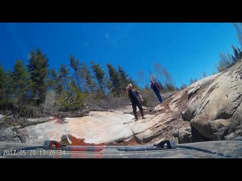 Dash Cam 4x4 Off-Roading Little Moab trail in Quebec - Part 2