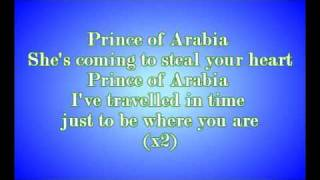 [lyrics] Toybox - Prince Of Arabia