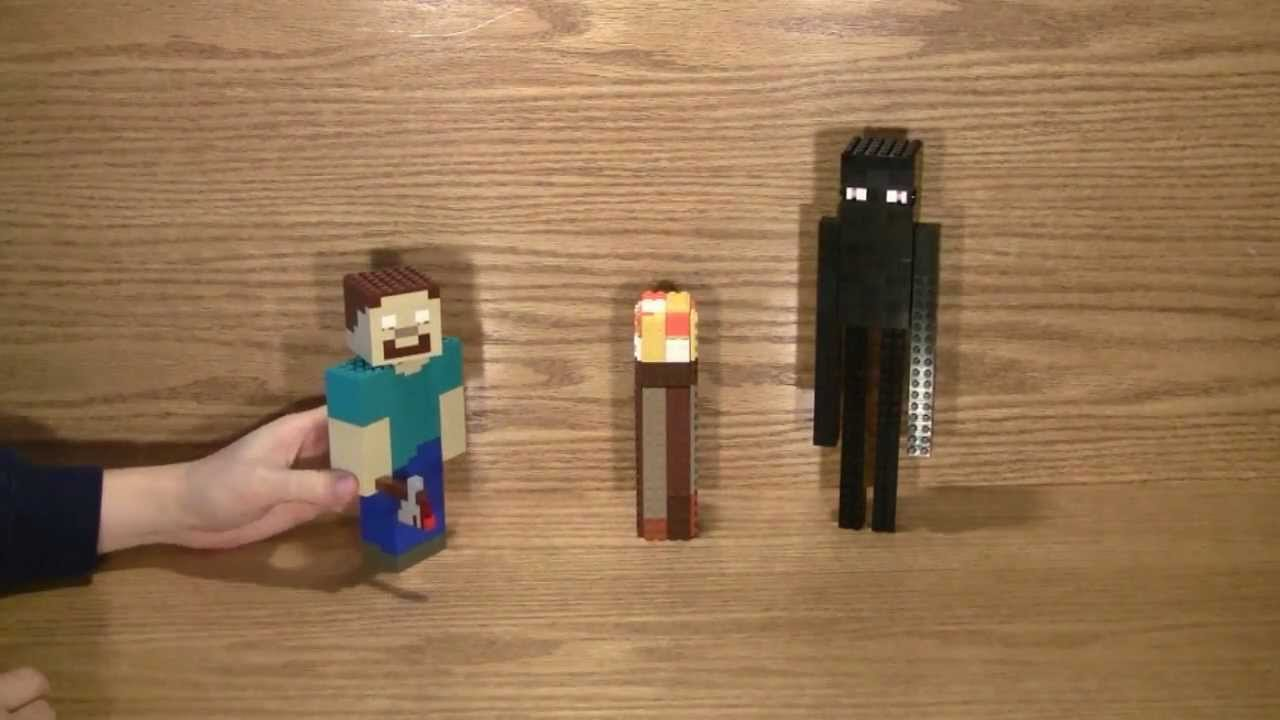 Toy R Us Toy Herobrine : Lego minecraft more miscellaneous youtube