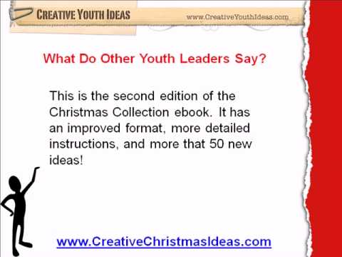 Creative Youth Ideas Christmas Collection 2nd Edition Youtube