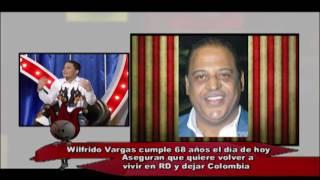 Wilfrido Vargas se arrepiente de vivir en Colombia