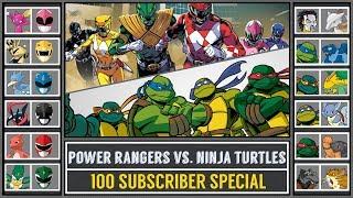 Power Rangers vs. Ninja Turtles (Pokémon Sun/Moon) - 100 Subscriber Special - Pokémon Crossover