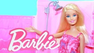 Barbie Bathroom Glam Shower Playset Doll Toy Review Alltoycollector
