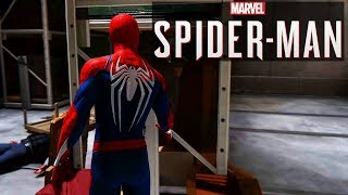 [NEW] PS4 Spider-man Arts Museum Mission Gameplay - Stealth System