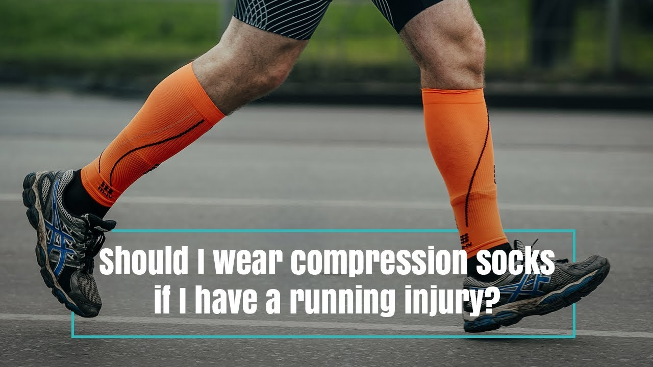 3ba73683fc Should I wear compression socks if I have a running injury? - YouTube