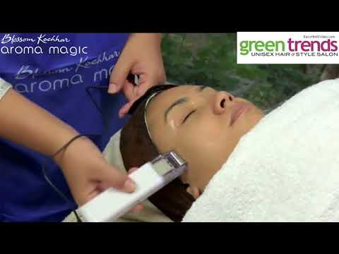 Aromamagic V Jewel facial in branded way